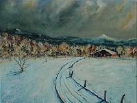 Rainer-Jaeckel-Landschaft-Berge-Landschaft-Winter-Gegenwartskunst-Gegenwartskunst