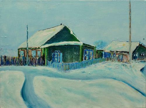 Rainer Jäckel, Russian Winter, Landschaft: Winter, Natur: Diverse, Naturalismus