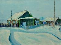 Rainer-Jaeckel-Landschaft-Winter-Natur-Diverse-Moderne-Naturalismus