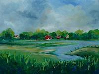 Rainer-Jaeckel-Diverse-Landschaften-Natur-Wasser-Moderne-Naturalismus