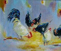 Rainer-Jaeckel-Tiere-Land-Gefuehle-Geborgenheit-Moderne-Expressionismus-Neo-Expressionismus