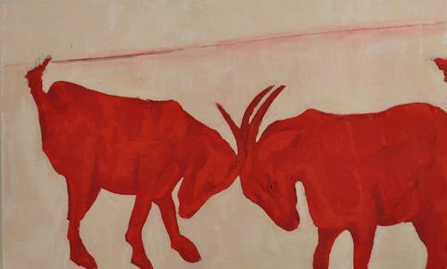 Imke Kreiser, Goates, Tiere: Land, Gegenwartskunst