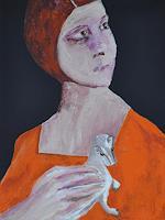 Imke-Kreiser-Menschen-Portraet-Menschen-Frau-Gegenwartskunst-Gegenwartskunst