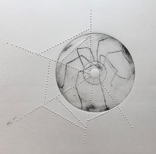 Imke Kreiser, O/T, Tiere: Land, Abstraktes, Gegenwartskunst