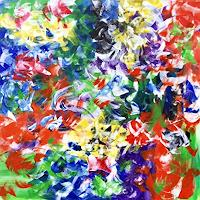 Hanni-Smigaj-Religion-Abstraktes-Moderne-Expressionismus-Abstrakter-Expressionismus