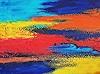 Hanni Smigaj, abstract III, Abstraktes, Abstraktes, Informel