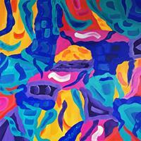 Hanni-Smigaj-Abstraktes-Natur-Moderne-Abstrakte-Kunst-Informel