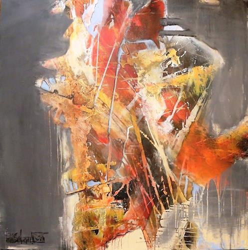 art ilse schill, progressus, Abstraktes, Fantasie, Gegenwartskunst, Abstrakter Expressionismus