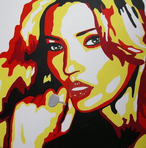 Michaela Zottler, Kate Moss, Menschen: Frau, Menschen: Porträt, Pop-Art