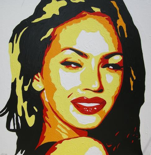 Michaela Zottler, Megan Fox, Menschen: Frau, Menschen: Porträt, Pop-Art