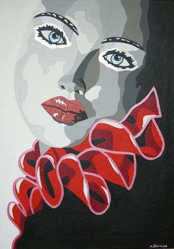 Michaela Zottler, Glamour Girl, Menschen: Frau, Menschen: Porträt, Pop-Art