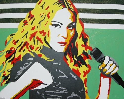 Michaela Zottler, Madonna, Menschen: Frau, Menschen: Porträt, Pop-Art