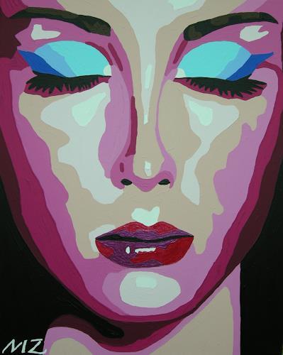 Michaela Zottler, Pink passion, Menschen: Frau, Menschen: Porträt, Pop-Art