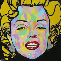 Michaela-Zottler-Menschen-Frau-Menschen-Portraet-Moderne-Pop-Art