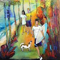 miro-sedlar-Menschen-Kinder-Moderne-Abstrakte-Kunst