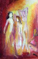miro-sedlar-Menschen-Gruppe-Moderne-Abstrakte-Kunst