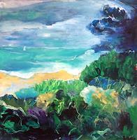 miro-sedlar-Landschaft-Strand-Moderne-Abstrakte-Kunst