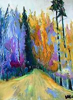 miro-sedlar-Landschaft-Herbst-Moderne-Abstrakte-Kunst
