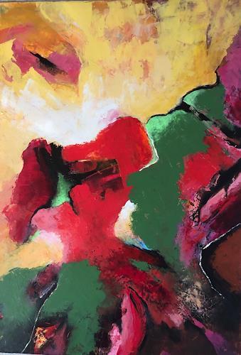 miro sedlar, Indian summer, Abstraktes, Abstrakte Kunst