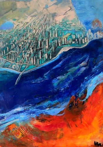 miro sedlar, Chicago, Diverse Landschaften, Abstrakte Kunst, Abstrakter Expressionismus