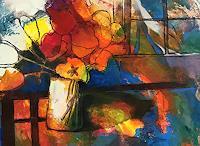 miro-sedlar-Pflanzen-Blumen-Moderne-Abstrakte-Kunst