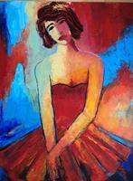 miro-sedlar-Menschen-Frau-Moderne-Abstrakte-Kunst