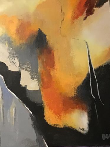 miro sedlar, Silhouette 2, Abstraktes, Abstrakte Kunst