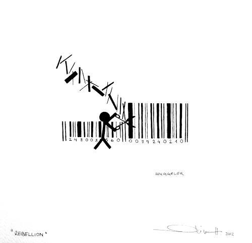 Oliver Henggeler, Rebellion, Gesellschaft, Minimal Art, Abstrakter Expressionismus