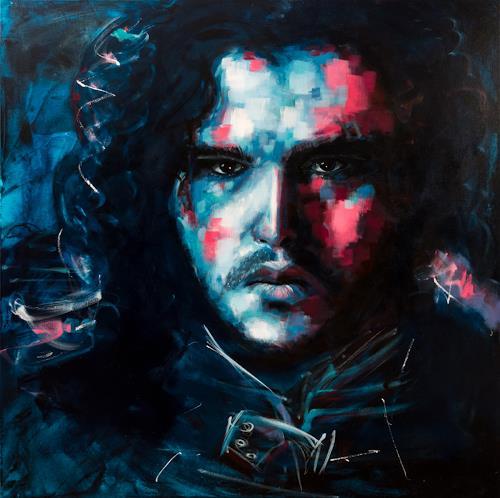Alex, Rightful King, Menschen: Gesichter, Menschen: Mann, Abstrakte Kunst