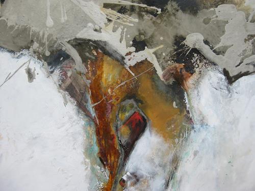 bärbel ricklefs-bahr, cuevas los verdes II, Abstraktes, Abstrakte Kunst, Abstrakter Expressionismus