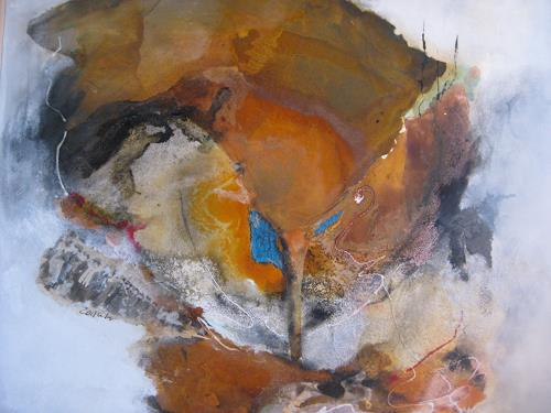 bärbel ricklefs-bahr, ZEITUHR, Abstraktes, Abstrakte Kunst, Abstrakter Expressionismus