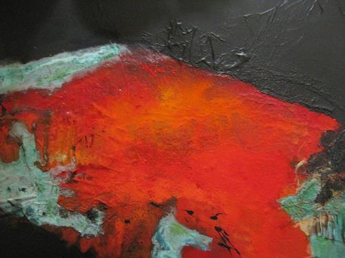 bärbel ricklefs-bahr, ohne Titel, Abstraktes, Abstrakte Kunst