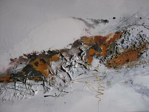 bärbel ricklefs-bahr, 0hne Titel, Abstraktes, Abstrakte Kunst, Abstrakter Expressionismus
