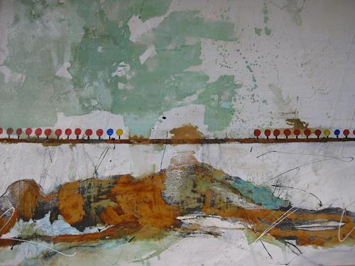 bärbel ricklefs-bahr, ohne titel, Abstraktes, Abstrakte Kunst, Abstrakter Expressionismus