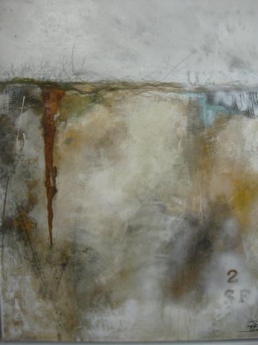 bärbel ricklefs-bahr, Nordland I, Abstraktes, Abstrakte Kunst