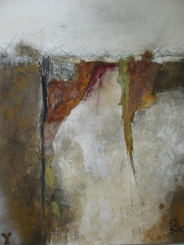 bärbel ricklefs-bahr, Nordland II, Abstraktes, Abstrakte Kunst
