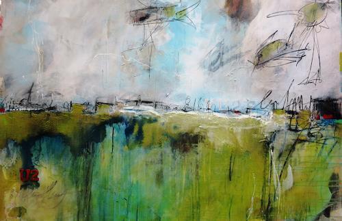 bärbel ricklefs-bahr, departure, Abstraktes, Abstrakte Kunst, Expressionismus