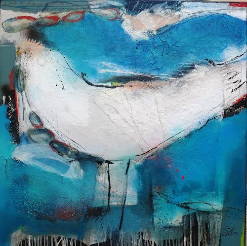 bärbel ricklefs-bahr, o.T., Abstraktes, Abstrakte Kunst, Abstrakter Expressionismus