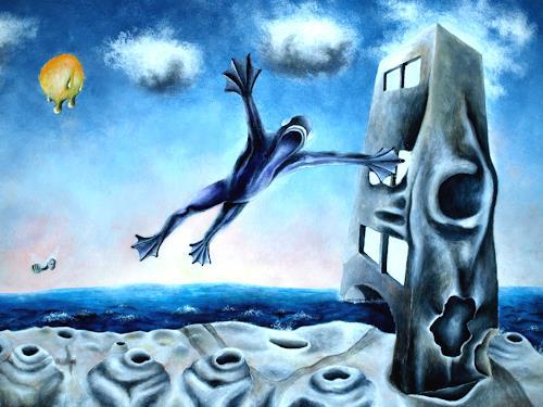 Tobias Gruber, Surrealistisches Ohr, Gesellschaft, Surrealismus
