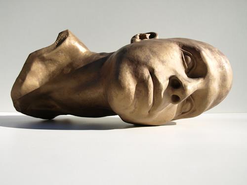 Manuel Gruber, Bruder, Menschen: Porträt, Realismus, Abstrakter Expressionismus