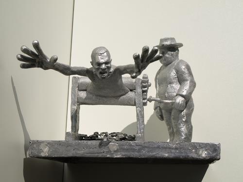 Manuel Gruber, money machine, Gesellschaft, expressiver Realismus, Abstrakter Expressionismus