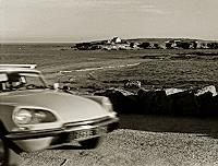 Klaus-Rademaker-Landschaft-See-Meer-Verkehr-Auto-Moderne-Fotorealismus