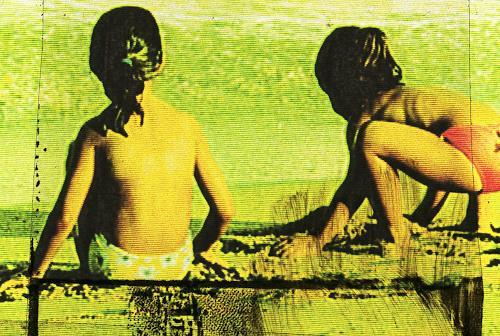 Carola Schmitt, Barceloneta - Beach, Menschen: Kinder, Pop-Art, Expressionismus