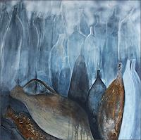 Cornelia-Hauch-Stilleben-Dekoratives-Moderne-Expressionismus-Abstrakter-Expressionismus