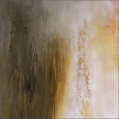 Cornelia Hauch, Wintersonne, Abstraktes, Abstraktes, Abstrakte Kunst