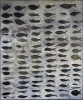 Cornelia Hauch, Fischsschwarm am Riff