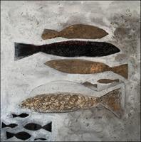 Cornelia-Hauch-Tiere-Wasser-Abstraktes-Moderne-Expressionismus
