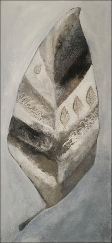 Cornelia Hauch, Winterblatt, Diverse Pflanzen, Abstraktes, Abstrakte Kunst