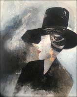Cornelia-Hauch-Abstraktes-Menschen-Frau-Moderne-Abstrakte-Kunst