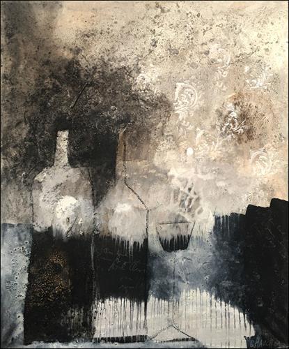 Cornelia Hauch, Probier`s mal mit Gemütlichkeit, Essen, Abstraktes, Abstrakte Kunst, Abstrakter Expressionismus